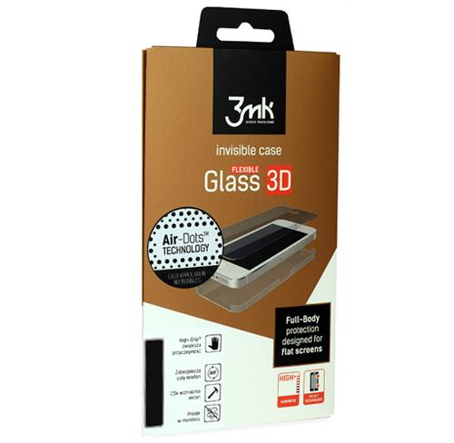 szkło, folia na całość 3mk flexible glass 3D high-grip iphone 5/5s/se