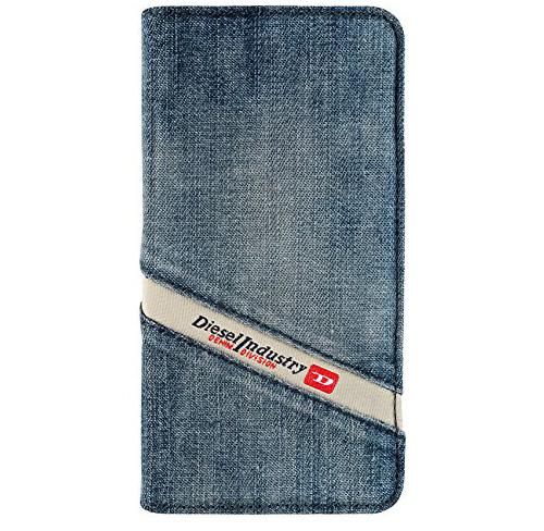 Etui Diesel iphone 5,5s,se  booklet case, niebieskie jeans