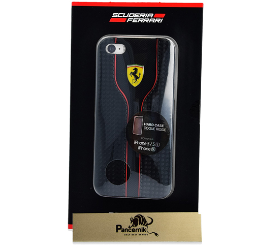 Etui Ferrari CG Mobile hard case iphone 5 5s se czarne black