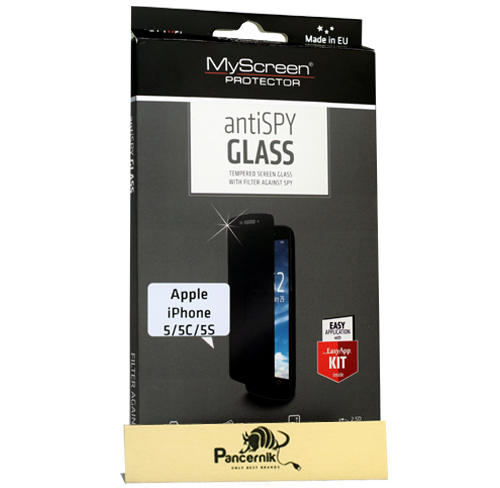 Szkło hartowane antiSPY iPhone 5 / 5c/ 5s