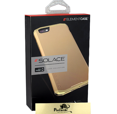 Etui Element case solace złote iphone 6 6s