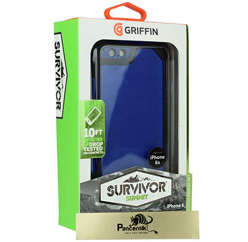 Griffin survivor summit iphone 6s czarno-niebieski