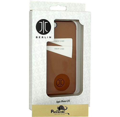 etui skórzane jt berlin  leather cover iphone 6 6s cognac koniakowe