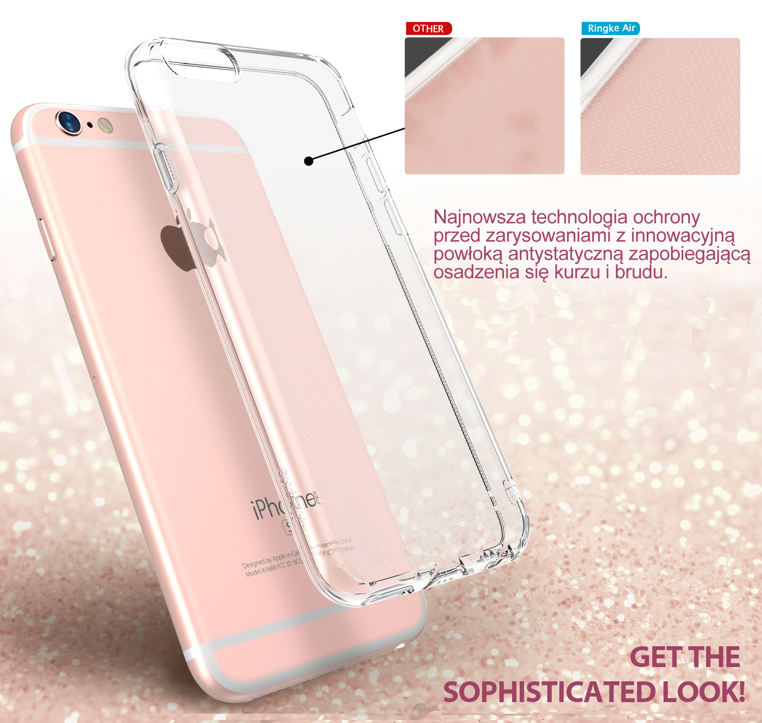 etui ringke air iphone 6 /6s crystal view