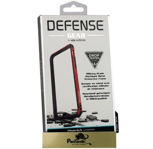 etui x-doria defense gear iphone 6/6s, czerwony, red
