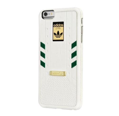Etui ADIDAS iPhone 6s Plus biało-zielone