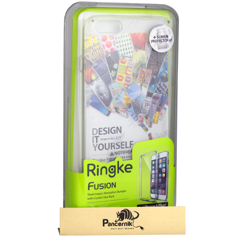 Etui Ringke Fusion iPhone 6 Plus / 6s Plus crystal view