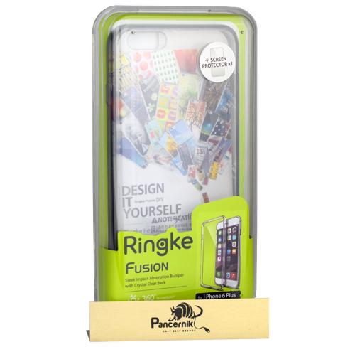 Etui Ringke Fusion iPhone 6 Plus / 6s Plus Smoke black