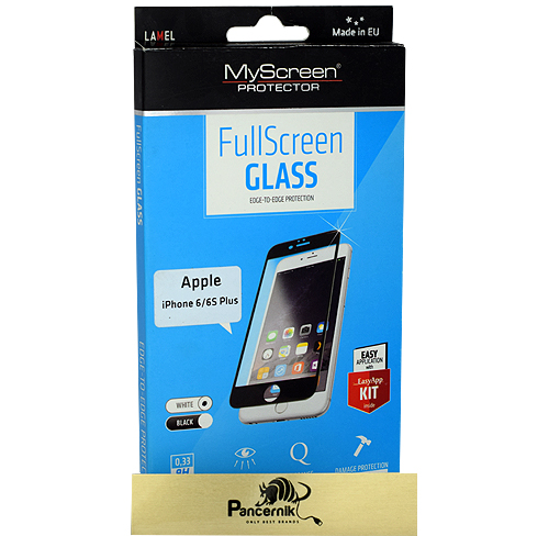 Szkło MyScreen FullScreen Glass Apple iPhone 6/6s plus white białe