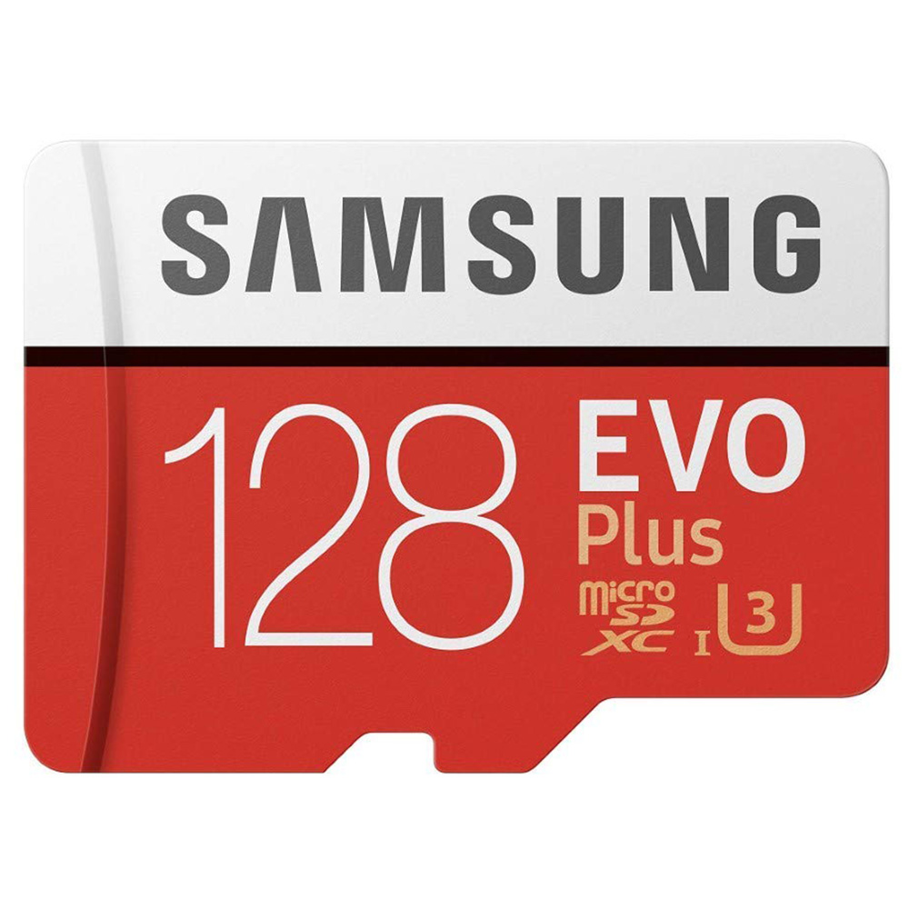 Karta pamięci Samsung Evo Plus 128 GB+Adapter
