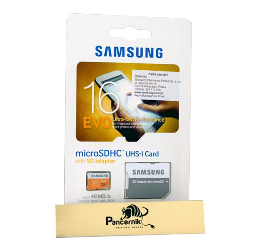 Karta pamięci microSD Samsung EVO 16 GB