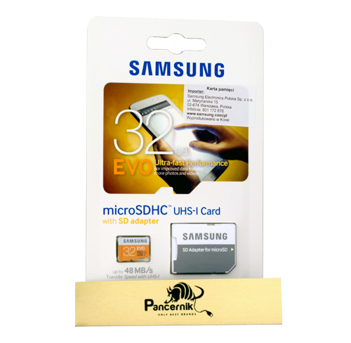 Karta pamięci microSD Samsung EVO 32 GB