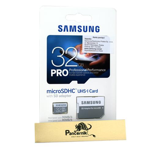 Karta pamięci micro SD Samsung PRO 32 GB