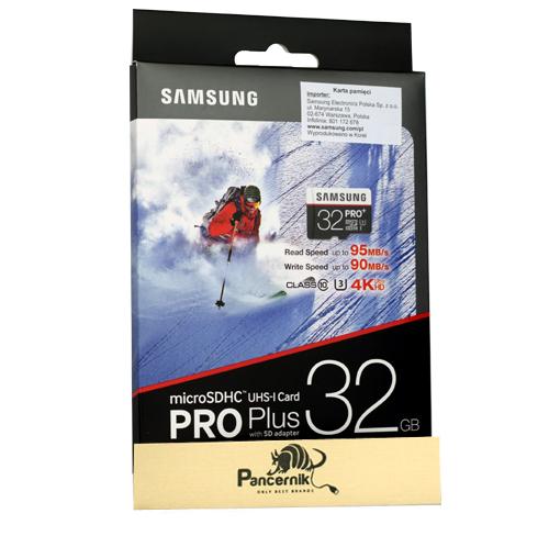 Karta pamięci micro SD Samsung PRO plus 32 GB