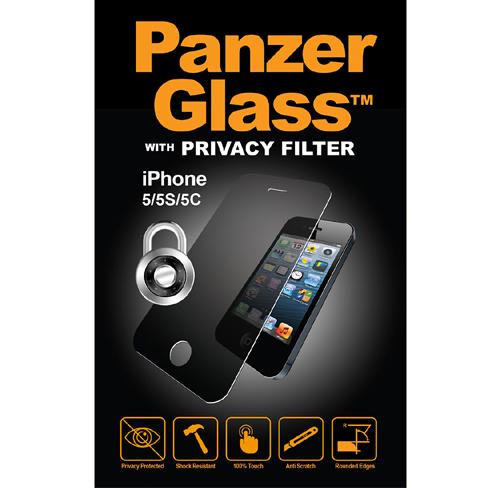 Szkło Panzerglass Privacy Filter iPhone 5,5s,5c,se przyciemniane