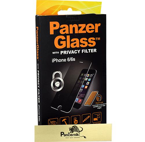 Szkło Panzerglass Privacy Filter iPhone 6 /6S  przyciemniane