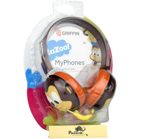Słuchawki dla dzieci Griffin monkey kazoo