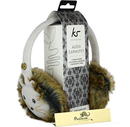 Słuchawki Przewodowe KitSound Audio Earmuffs Nauszniki CAT, (KOT)