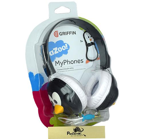 Słuchawki dla dzieci Griffin penguin pingwin kazoo