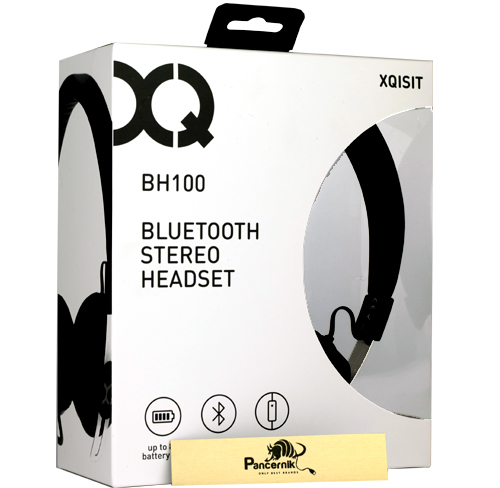 słuchawki bezprzewodowe xqisit BH100 Bluetooth czarne